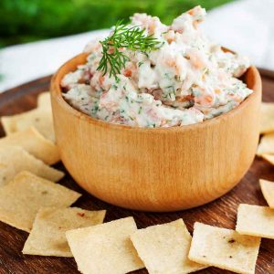 Smoked Salmon Spread - Salmon Herb Spread - Try our decilicious Smoked Salmon herb spread.