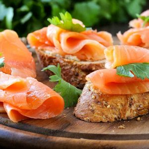 Salmon Party Platter - Order Smoked Salmon Party Platters Online