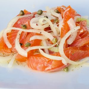Pickled Smoked Salmon, Smoked Salmon Pickled